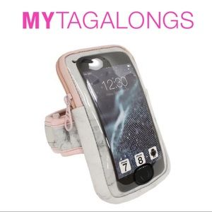 🆕 Neoprene Fitness Arm Band Phone Case Marble